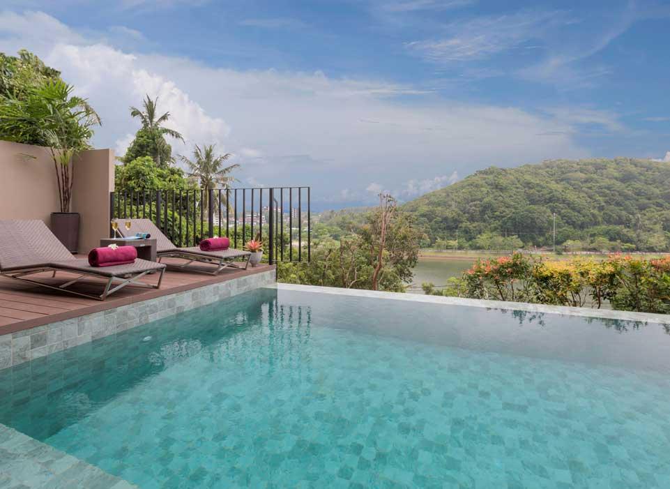 Sunsuri Phuket Вилла «Гранд» с бассейном