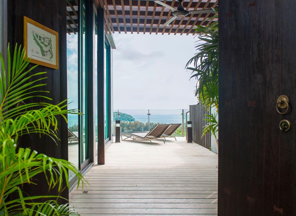 Sunsuri Phuket Вилла с  бассейном и видом на океан