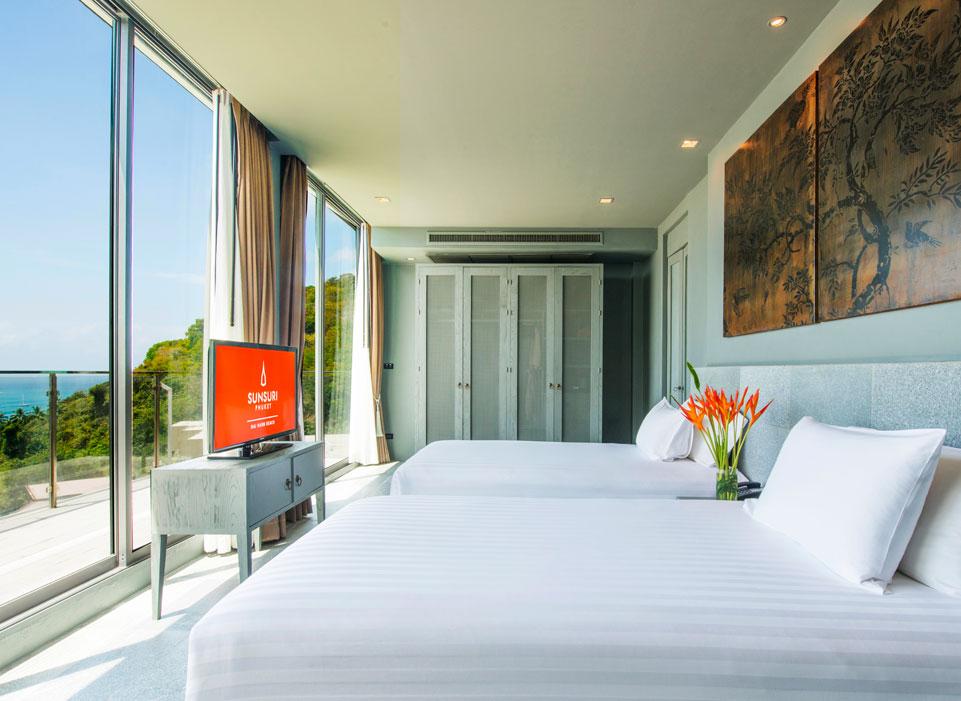Sunsuri Phuket 2х спальная Вилла с  бассейном и видом на океан